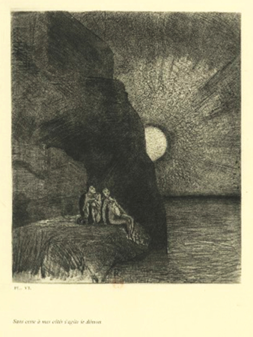 Illustration d'Odilon Redon